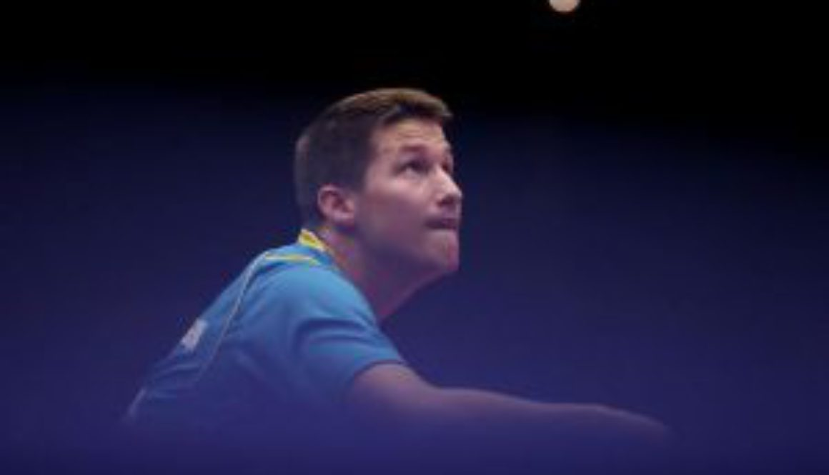 Kristian Karlsson en bewegingsdynamieken in tafeltennis