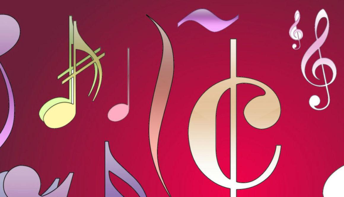 Verticaal en Horizontaal principe ook in de muziek